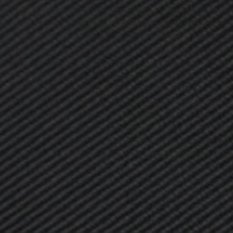 Larr Brio Black Modern Solid Self Tie Long Tie