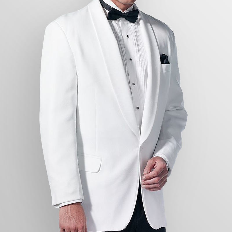 Doni Barassi White Shawl Classic Dinner Jacket