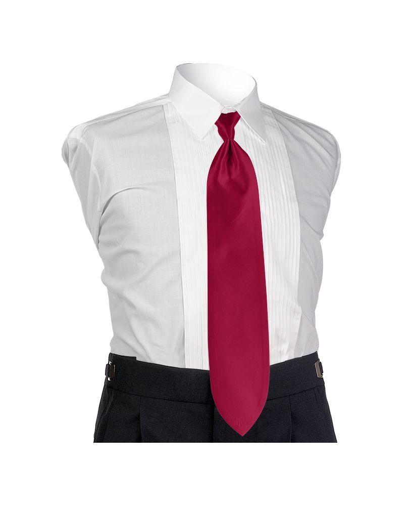 Magenta Solid Tie