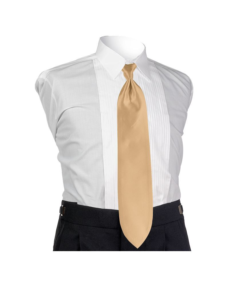 Gold Solid Tie