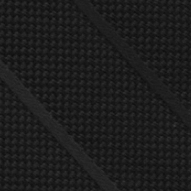 Larr Brio Black Wide Stripe Modern Solid Self Tie Long Tie