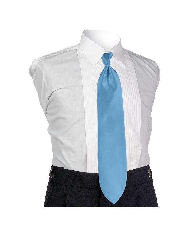 Cornflower Solid Tie