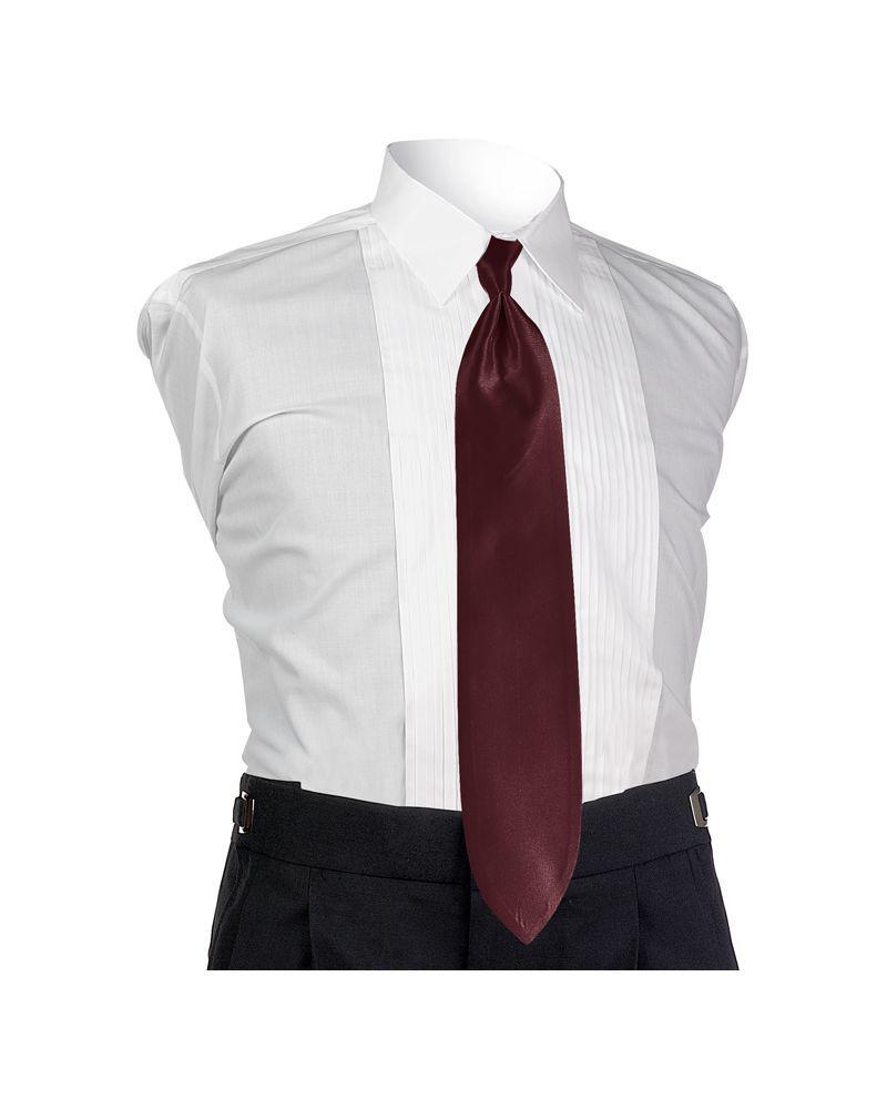 Wine Solid Tie
