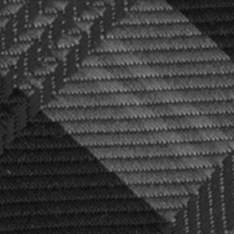 Larr Brio Black Plaid Modern Solid Bow Tie