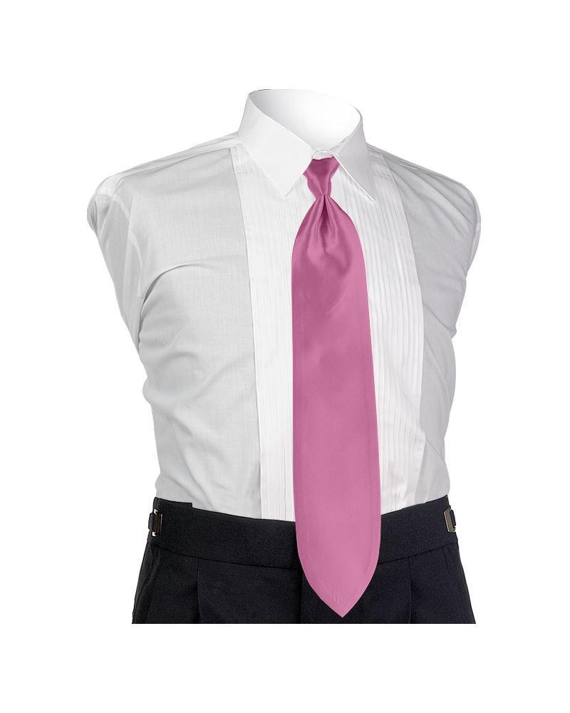 Cerise Solid Tie