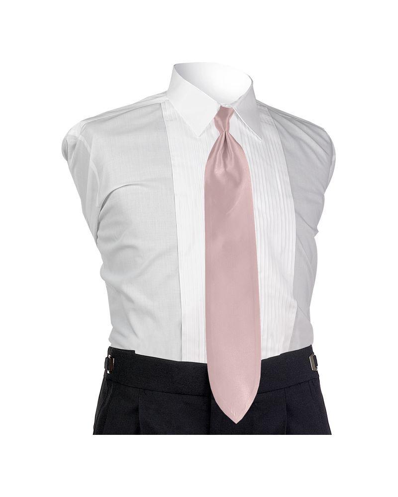 Pink Solid Tie