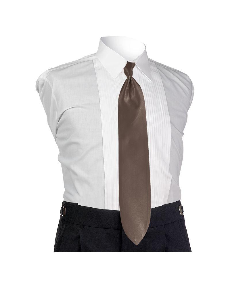 Mocha Solid Tie