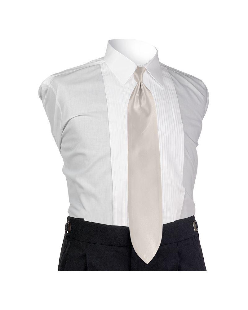 Ecru Solid Tie