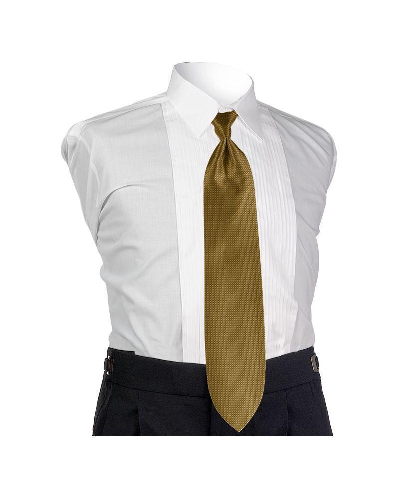 Golden Solid Tie