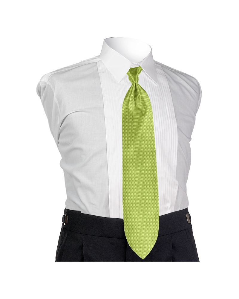 Key Lime Solid Tie