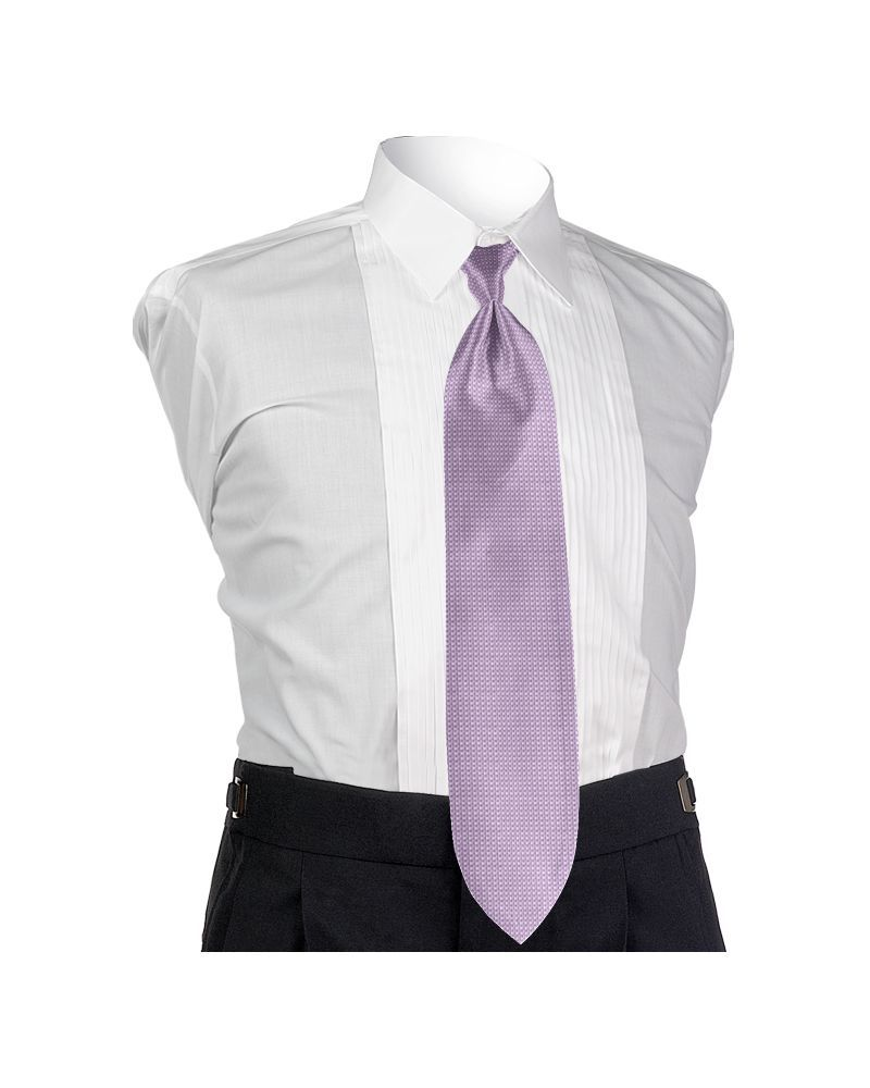 Light Lavender Solid Tie