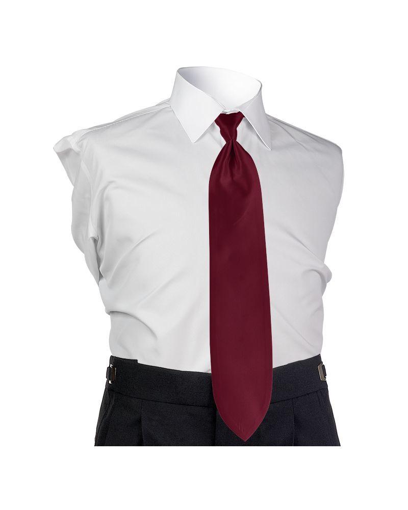 Sangria Solid Tie