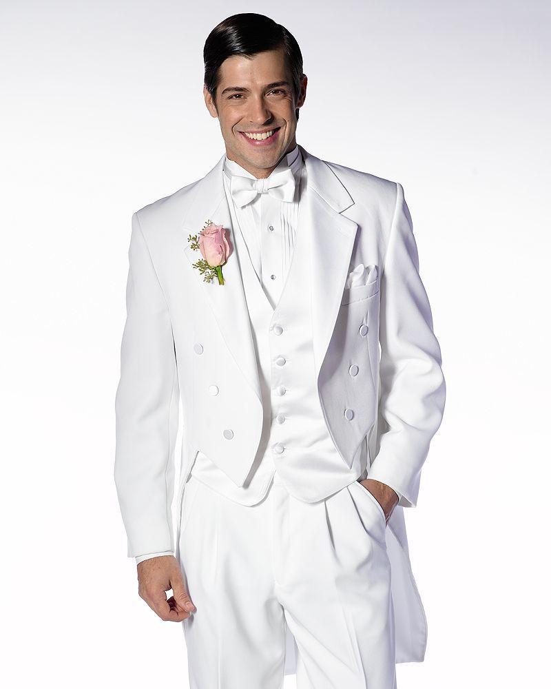 White Notch Tails Tuxedo