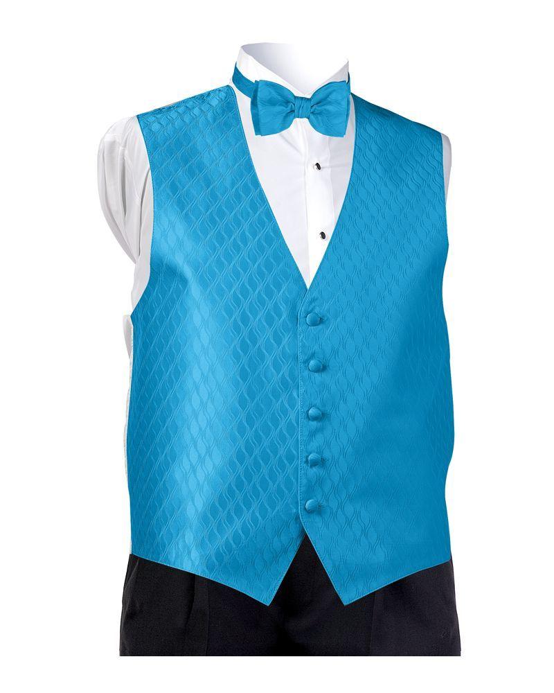 Turquoise Spectrum Vest