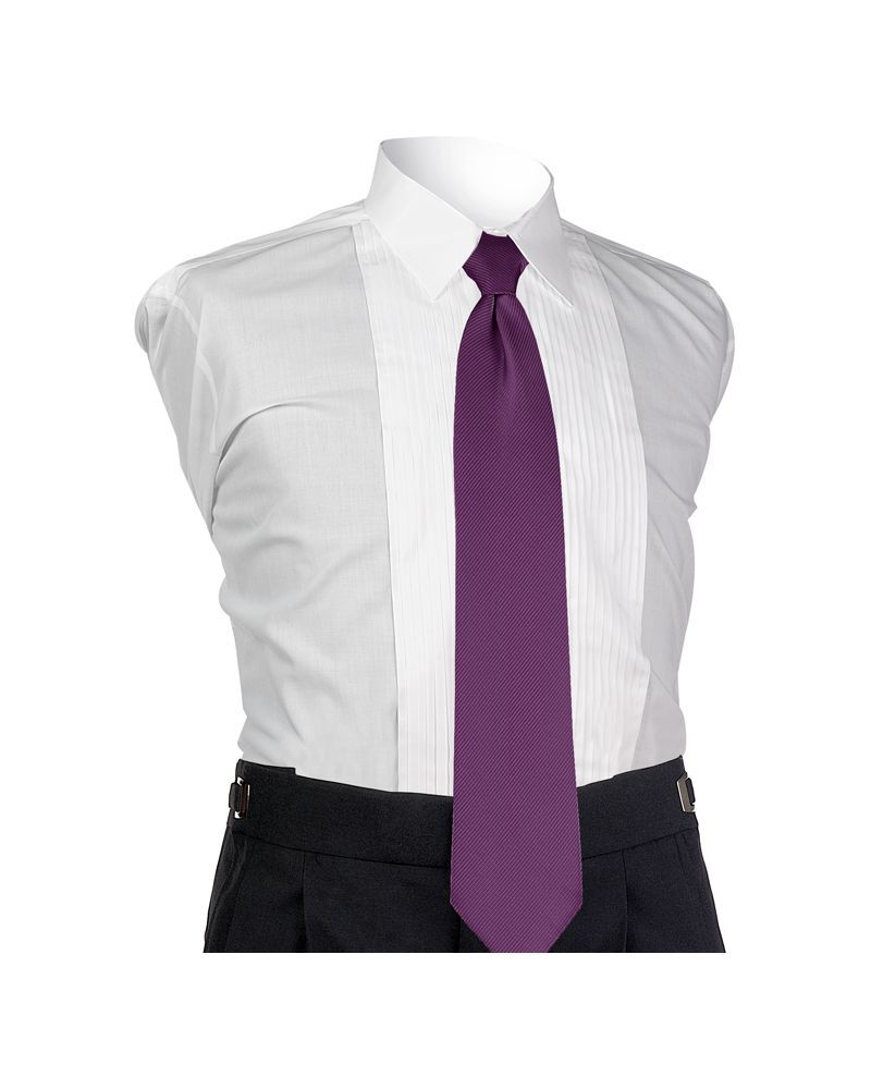 Aubergine Perfect 4-In-Hand Tie