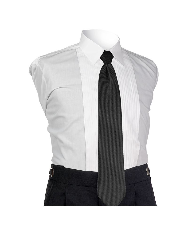 Black Perfect 4-In-Hand Tie