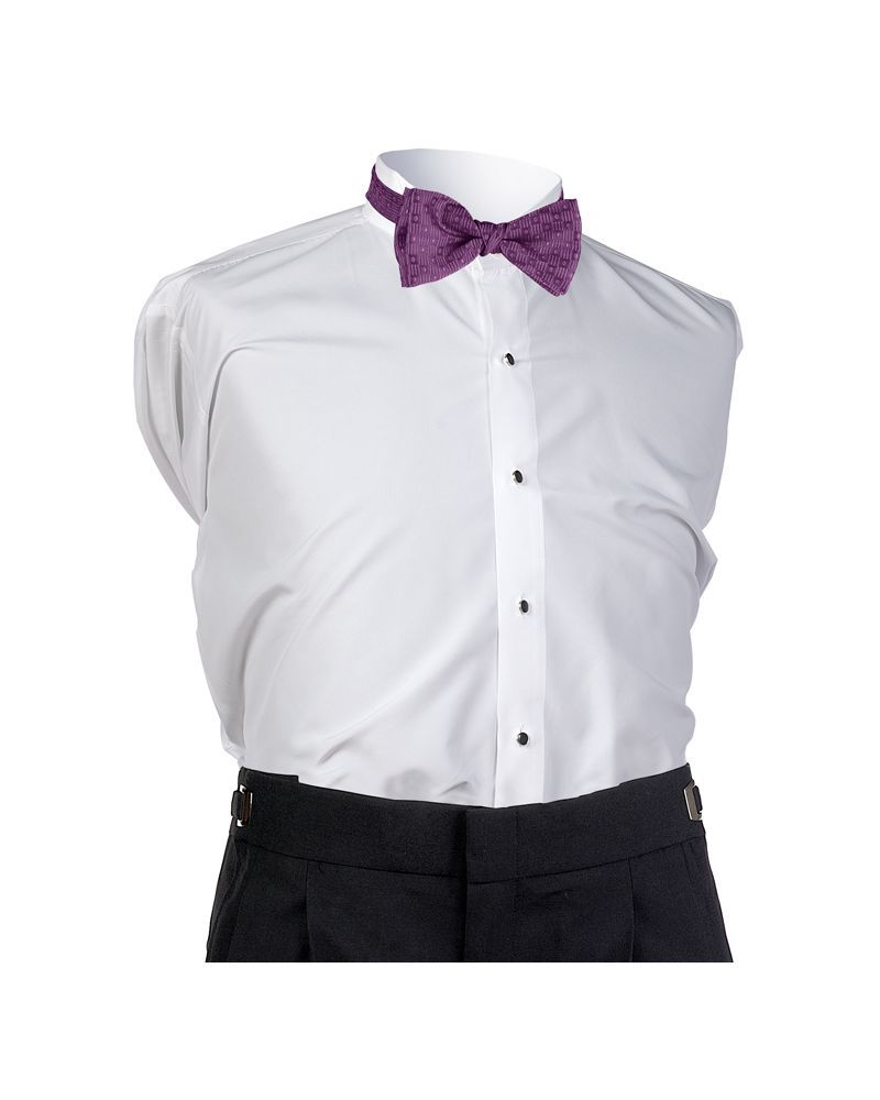 Aubergine Perfect Bow Tie