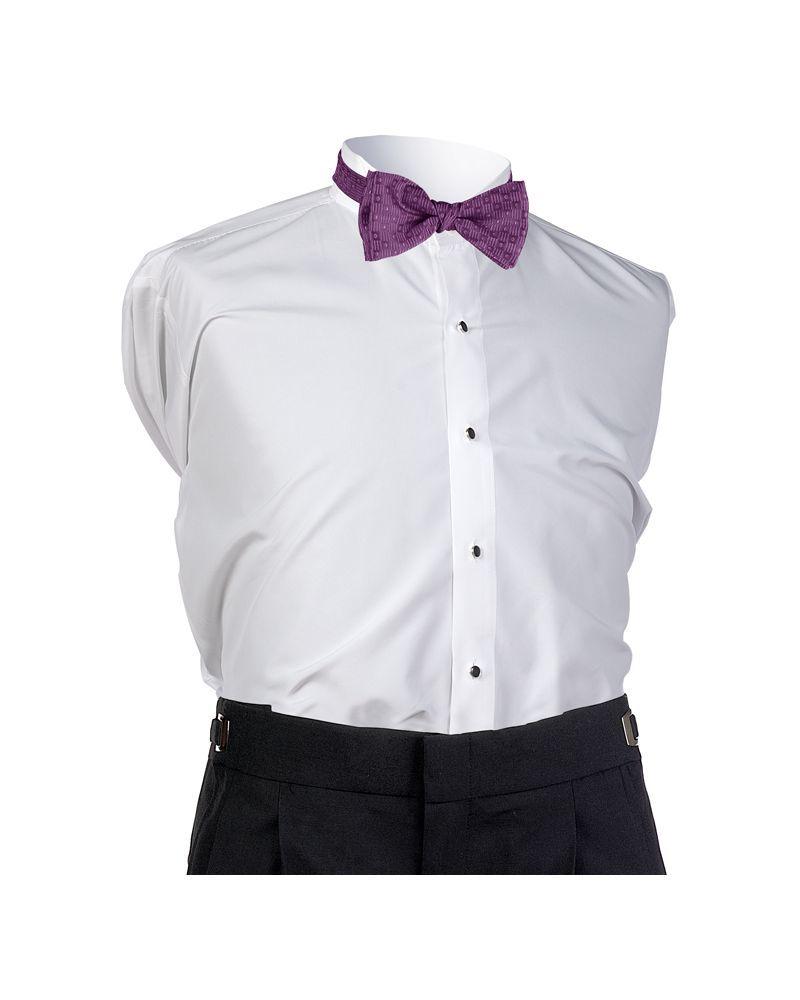 Aubergine Perfect Bow Tie