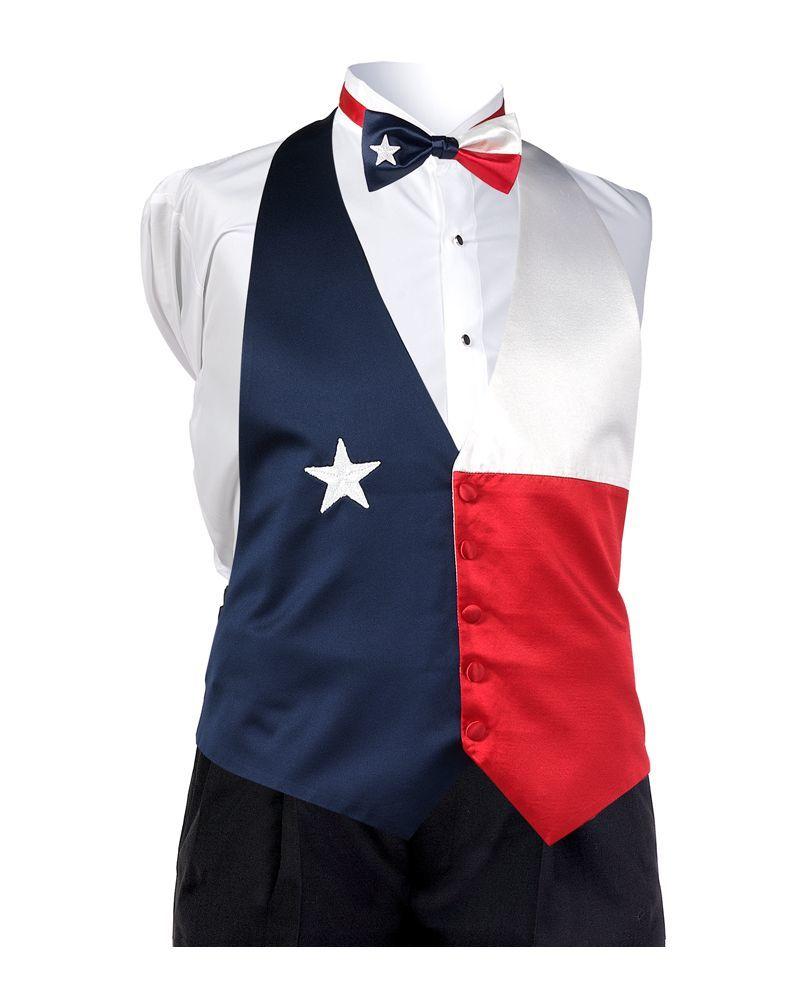 Texas Flag Vest
