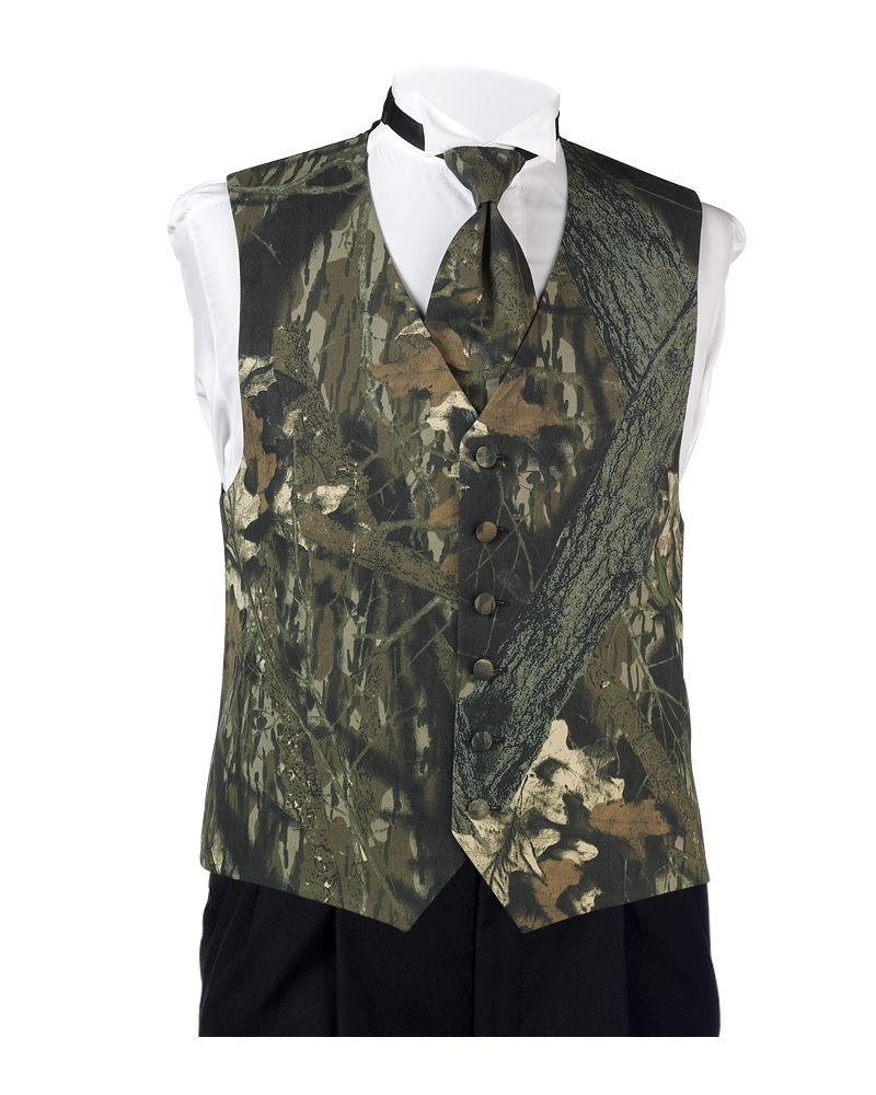 Mossy Oak Break-Up Camo Vest