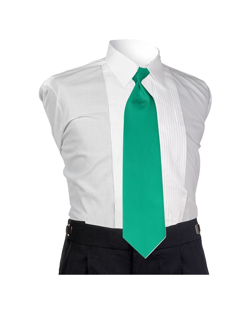Emerald Faille 4-In-Hand Tie