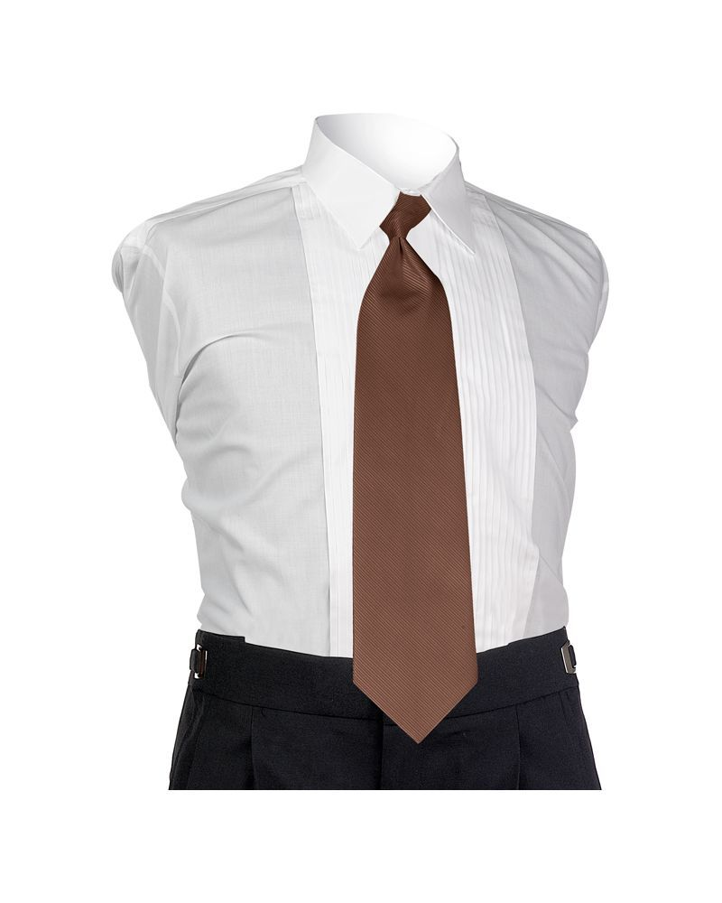 Espresso Faille 4-In-Hand Tie