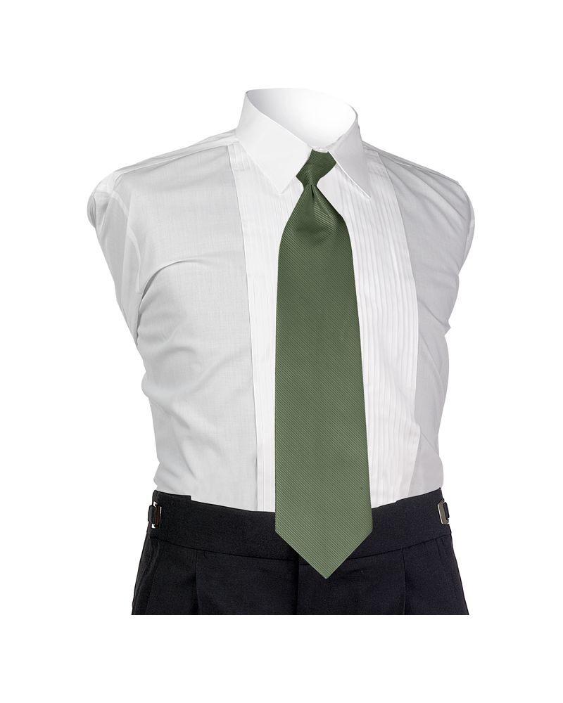 Pistachio Faille 4-In-Hand Tie