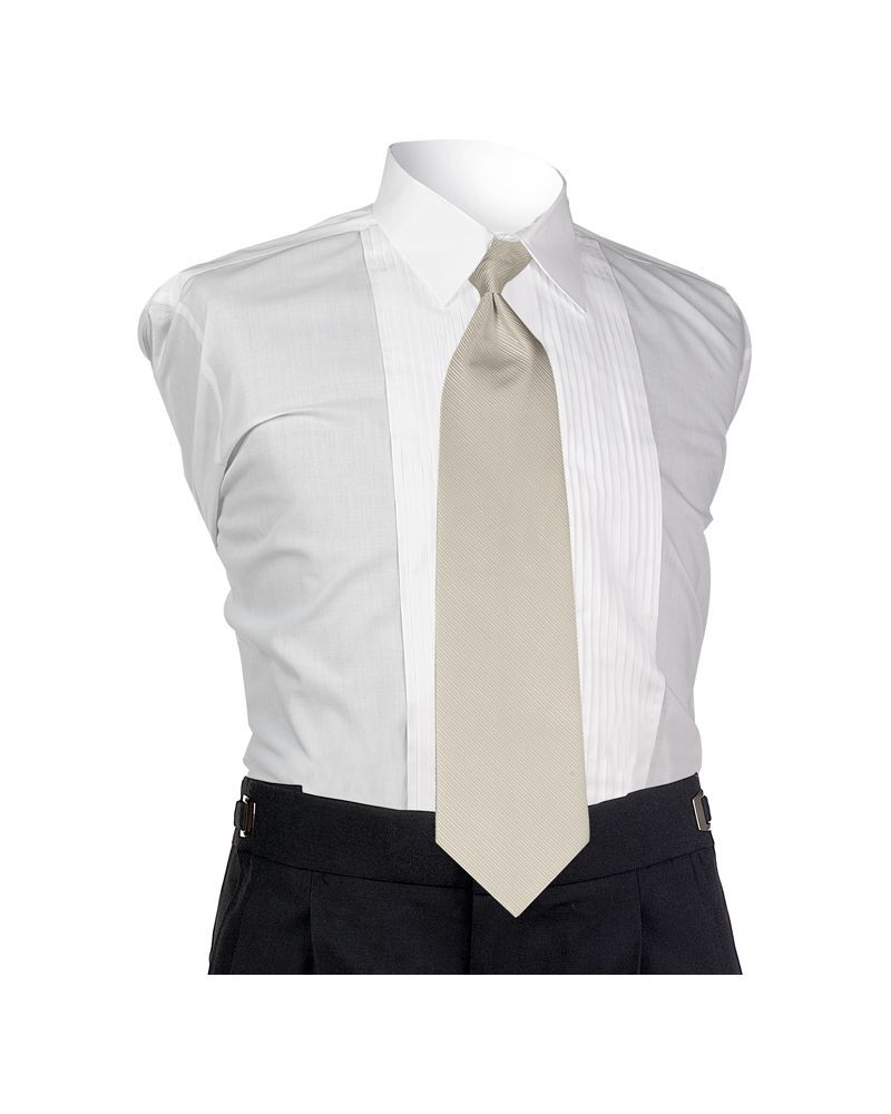 Straw Faille 4-In-Hand Tie