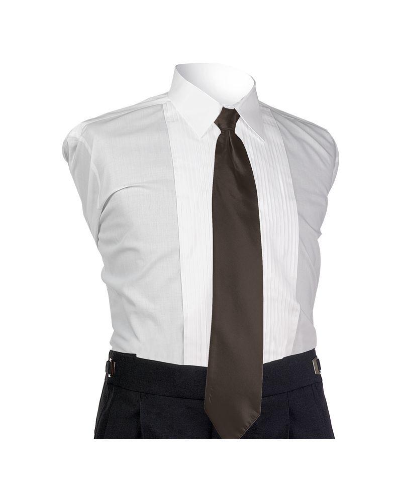 Espresso Aries 4-In-Hand Tie