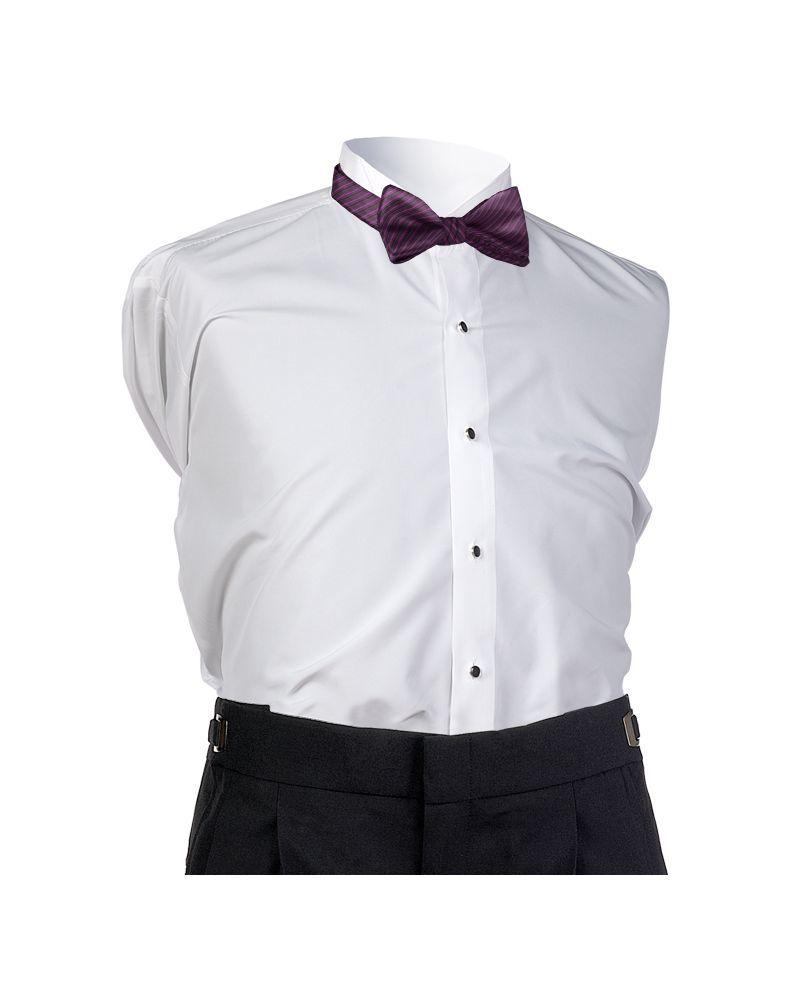 Aubergine Synergy Bow Tie