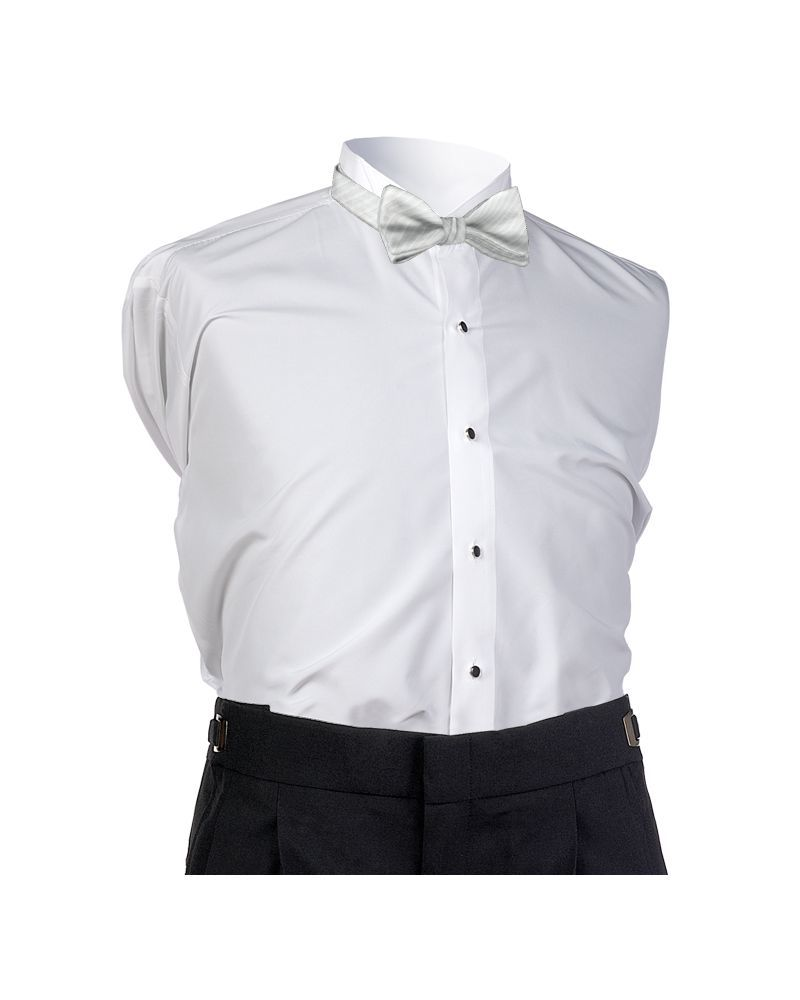White Synergy Bow Tie
