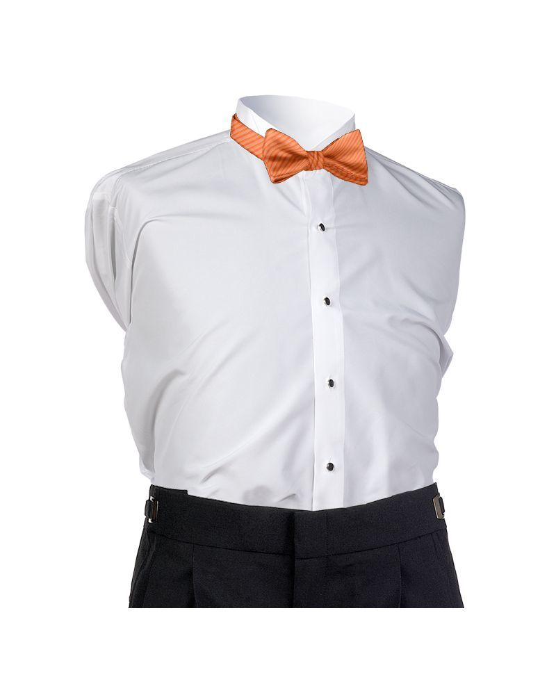 Bright Orange Synergy Bow Tie