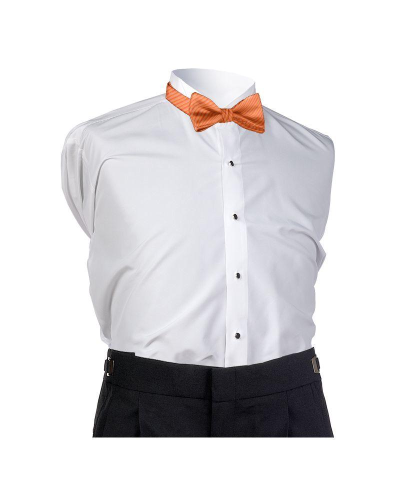 Bright Orange Synergy Bow Tie