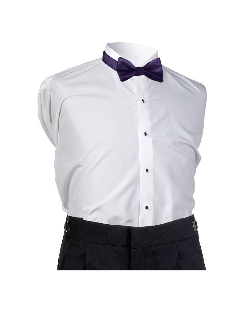 Dark Eggplant Synergy Bow Tie