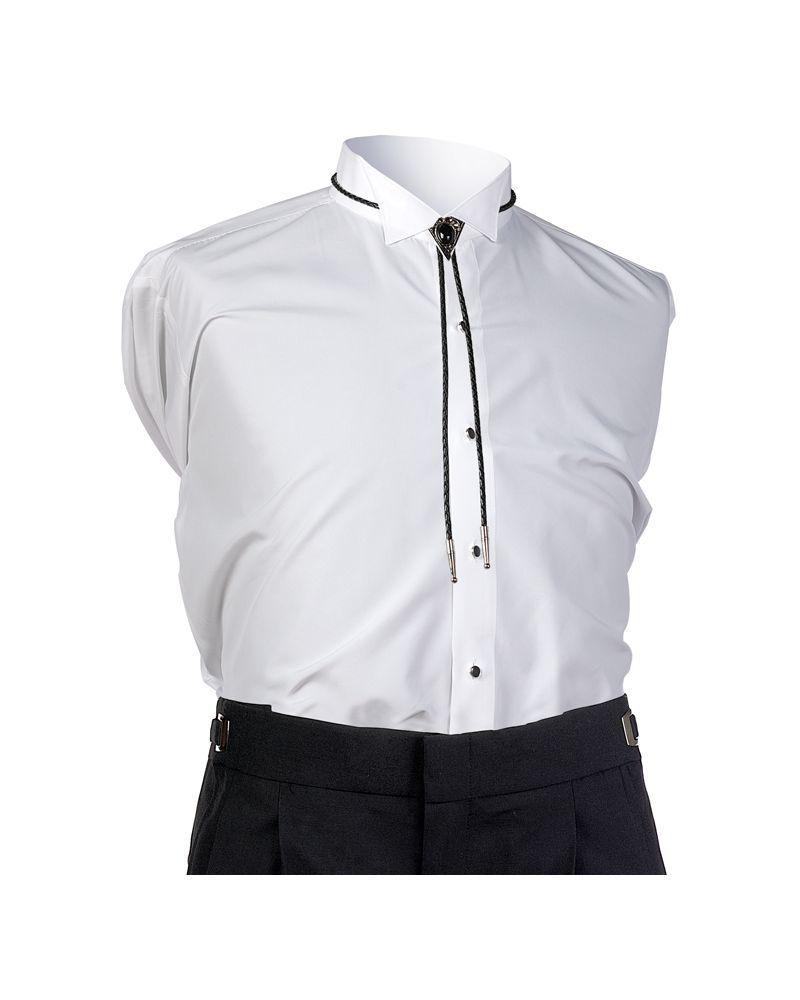 Black & Silver Bolo Tie