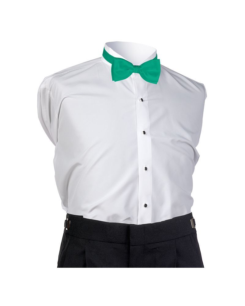 Emerald Faille Bow Tie