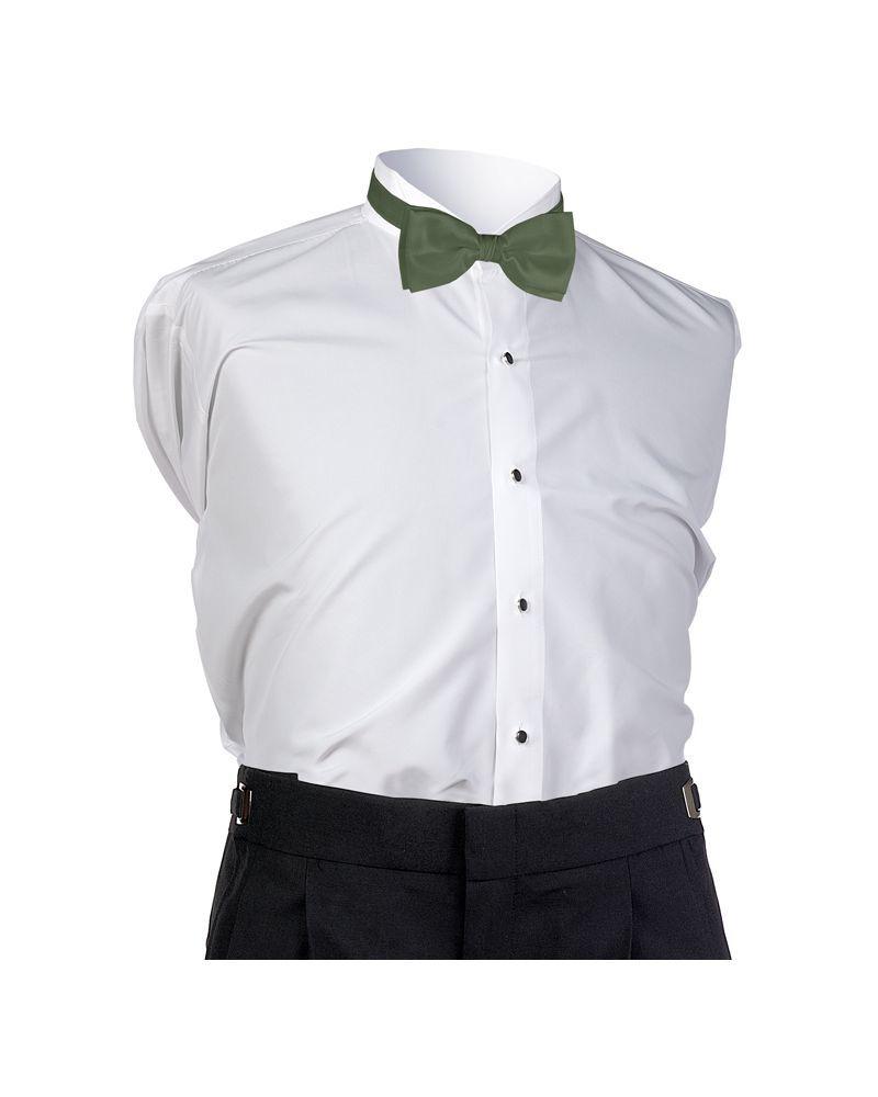 Pistachio Faille Bow Tie