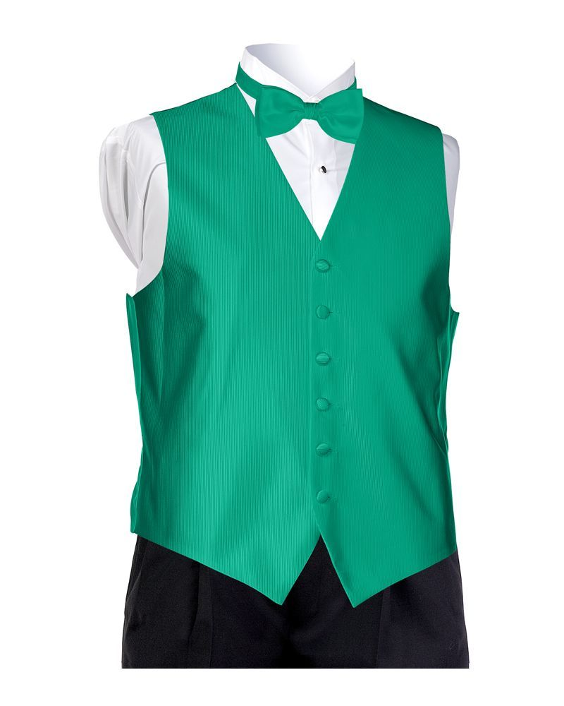 Emerald Faille Vest