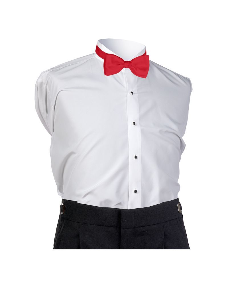 Red Faille Bow Tie
