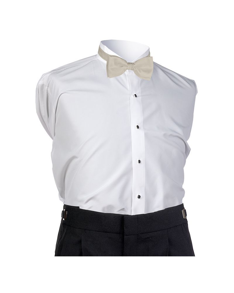 Straw Faille Bow Tie