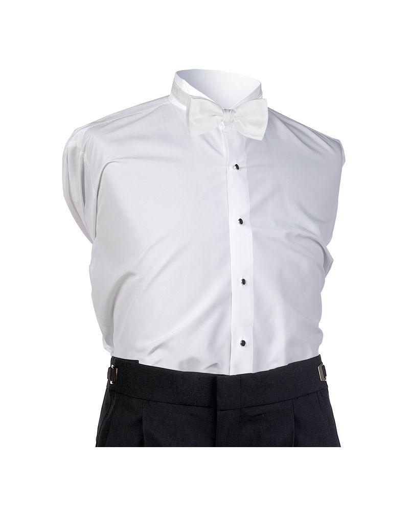 White Faille Bow Tie