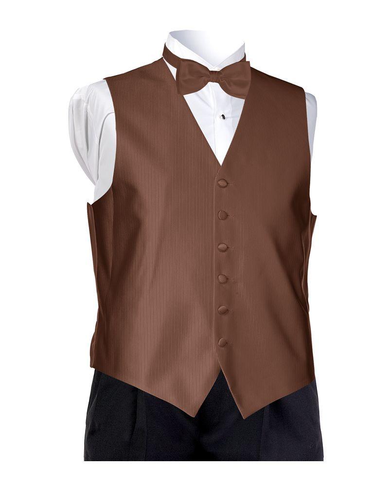 Espresso Faille Vest
