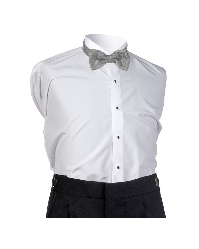 Platinum Sienna Bow Tie
