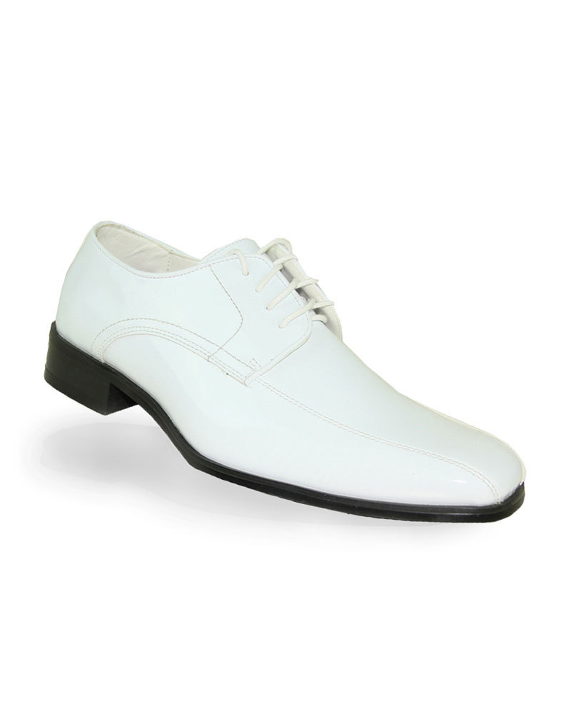 Patent Shoe - White