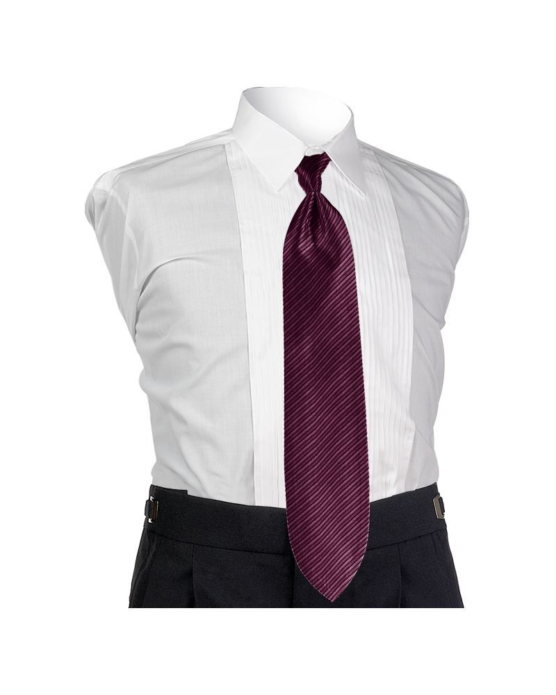 Synergy Aubergine 4-in-hand Tie