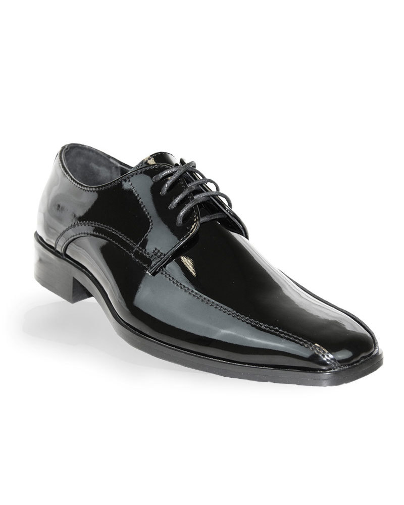 Patent Black Shoe