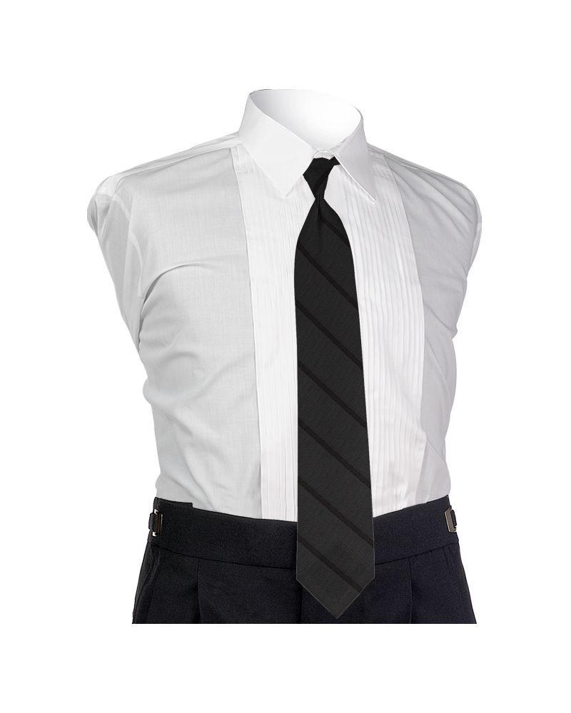 Carino Black Four-in-hand Tie