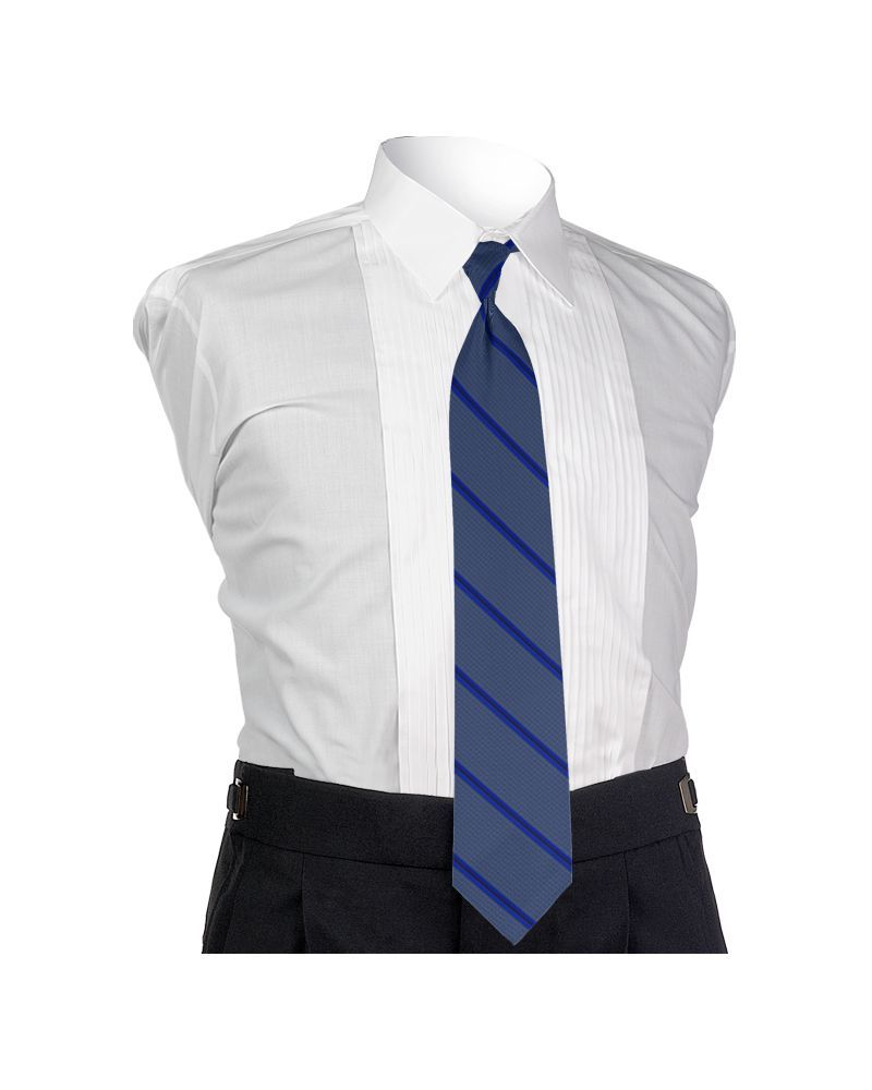 Carino Royal Blue Four-in-hand Tie