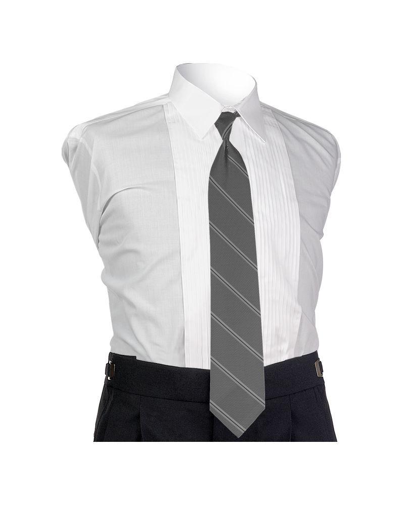 Carino Silver Four-in-hand Tie
