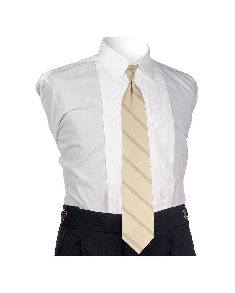 Carino Ivory Four-in-hand Tie
